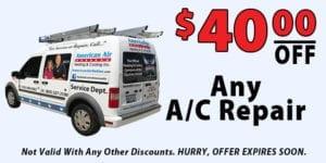 40 Off AC Repair